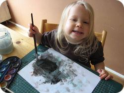 Lore ook foto maken schilderen