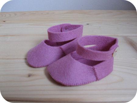 De rose schoentjes