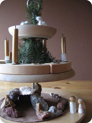 Kerst seizoenstafel