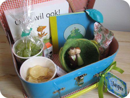 Inhoud groen koffertje
