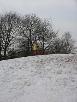 Foto's nieuwe huis, sneeuw, taartje 714