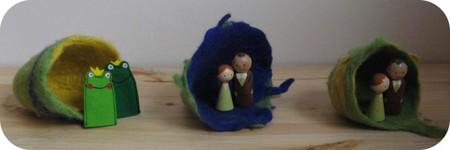 Green_weddingdrie_op_een_rij
